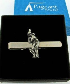 Cricket Tie Clip - high quality pewter gifts from Pageant Pewter
