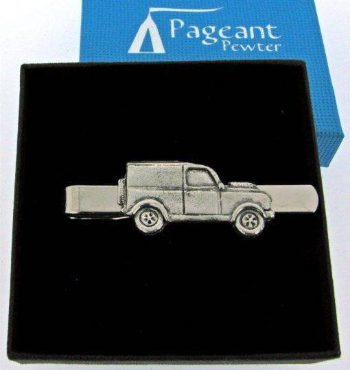 Classic Car LR Tie Clip - high quality pewter gifts from Pageant Pewter