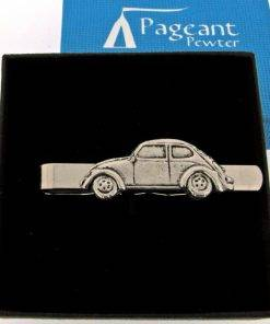 Classic Car VWB Tie Clip - high quality pewter gifts from Pageant Pewter