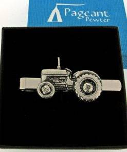 Tractor Tie Clip - high quality pewter gifts from Pageant Pewter