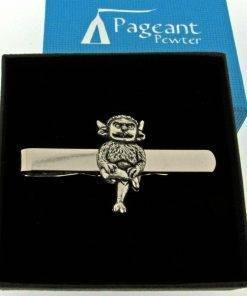 Lincoln Imp Tie Clip - high quality pewter gifts from Pageant Pewter