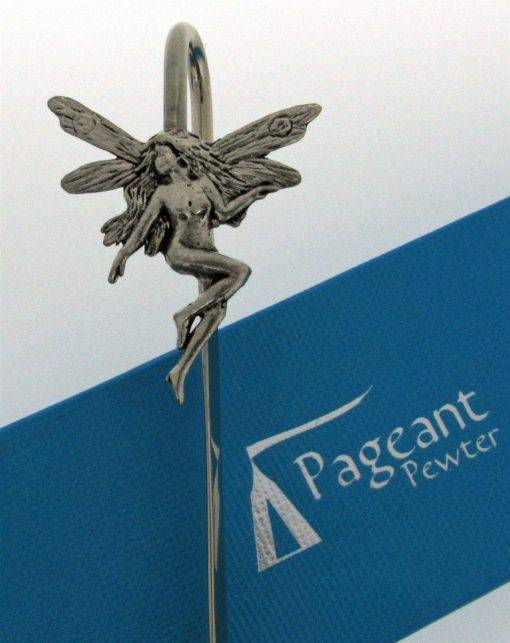 Fairy Bookmark - high quality pewter gifts from Pageant Pewter