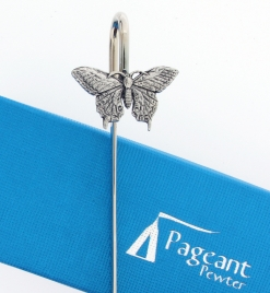 Butterfly Bookmark - high quality pewter gifts from Pageant Pewter