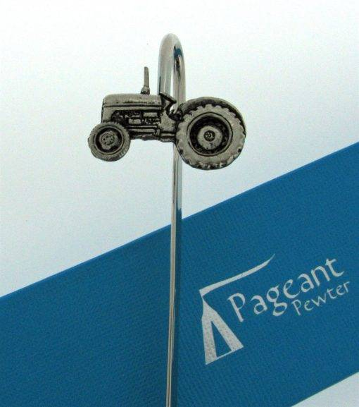 Tractor Bookmark - high quality pewter gifts from Pageant Pewter