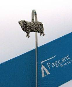 Sheep Bookmark - high quality pewter gifts from Pageant Pewter