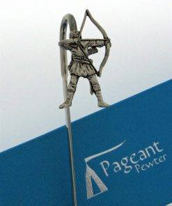 Archer - Robin Hood Bookmark - high quality pewter gifts from Pageant Pewter