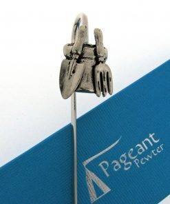 Plant Pot and Tools Bookmark - high quality pewter gifts from Pageant Pewter