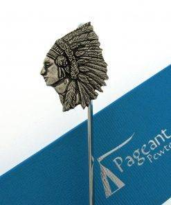 Chief Bookmark - high quality pewter gifts from Pageant Pewter