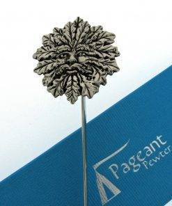 Green Man Bookmark - high quality pewter gifts from Pageant Pewter