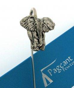 Elephant Bookmark - high quality pewter gifts from Pageant Pewter