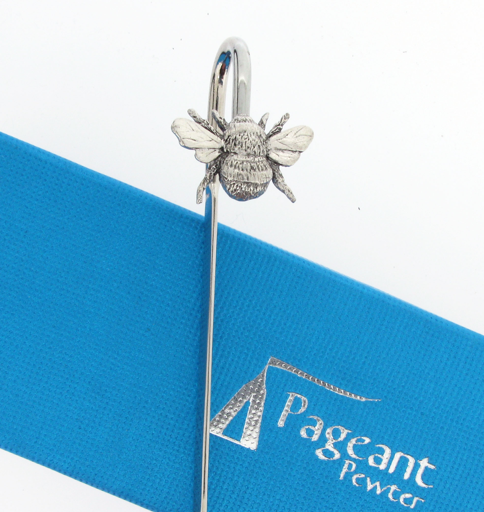 Bee Bookmark - high quality pewter gifts from Pageant Pewter