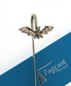 Bat Bookmark - high quality pewter gifts from Pageant Pewter