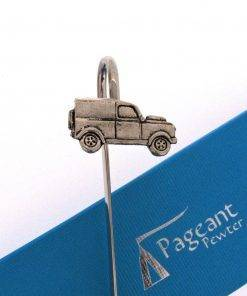 Classic Car LR Bookmark - high quality pewter gifts from Pageant Pewter