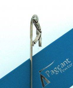 Golfer Bookmark - high quality pewter gifts from Pageant Pewter
