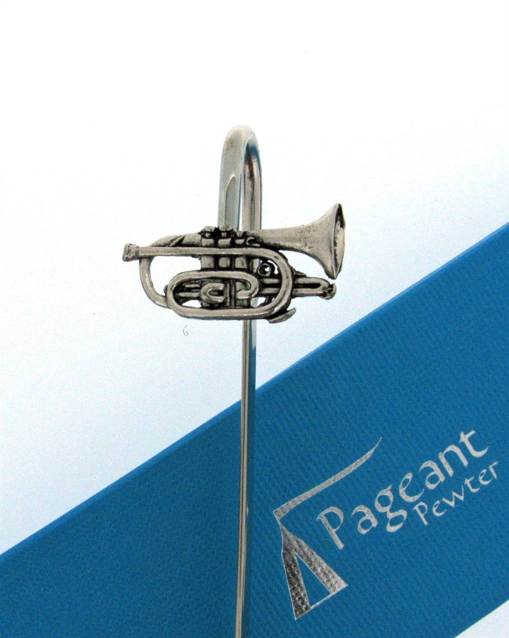 Cornet Bookmark - high quality pewter gifts from Pageant Pewter