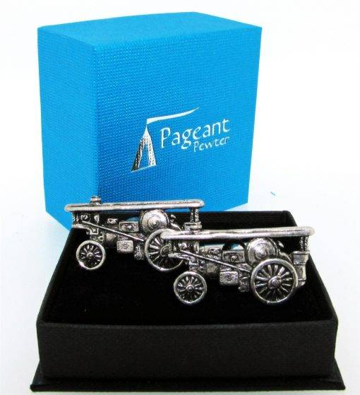 Showman Cufflinks - high quality pewter gifts from Pageant Pewter