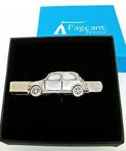 Classic Car MC Tie Clip - high quality pewter gifts from Pageant Pewter