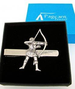 Archer - Robin Hood Tie Clip - high quality pewter gifts from Pageant Pewter