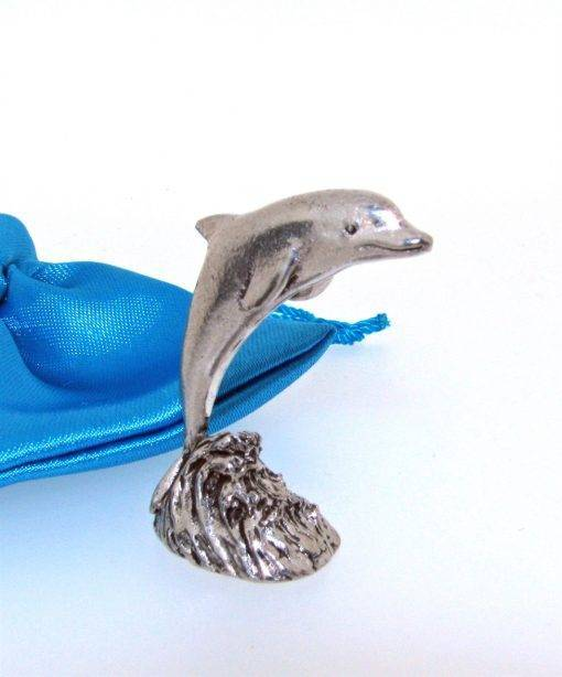 Dolphin Miniature - high quality pewter gifts from Pageant Pewter