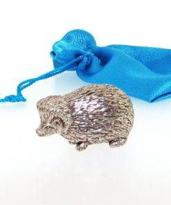 Hedgehog Miniature - high quality pewter gifts from Pageant Pewter