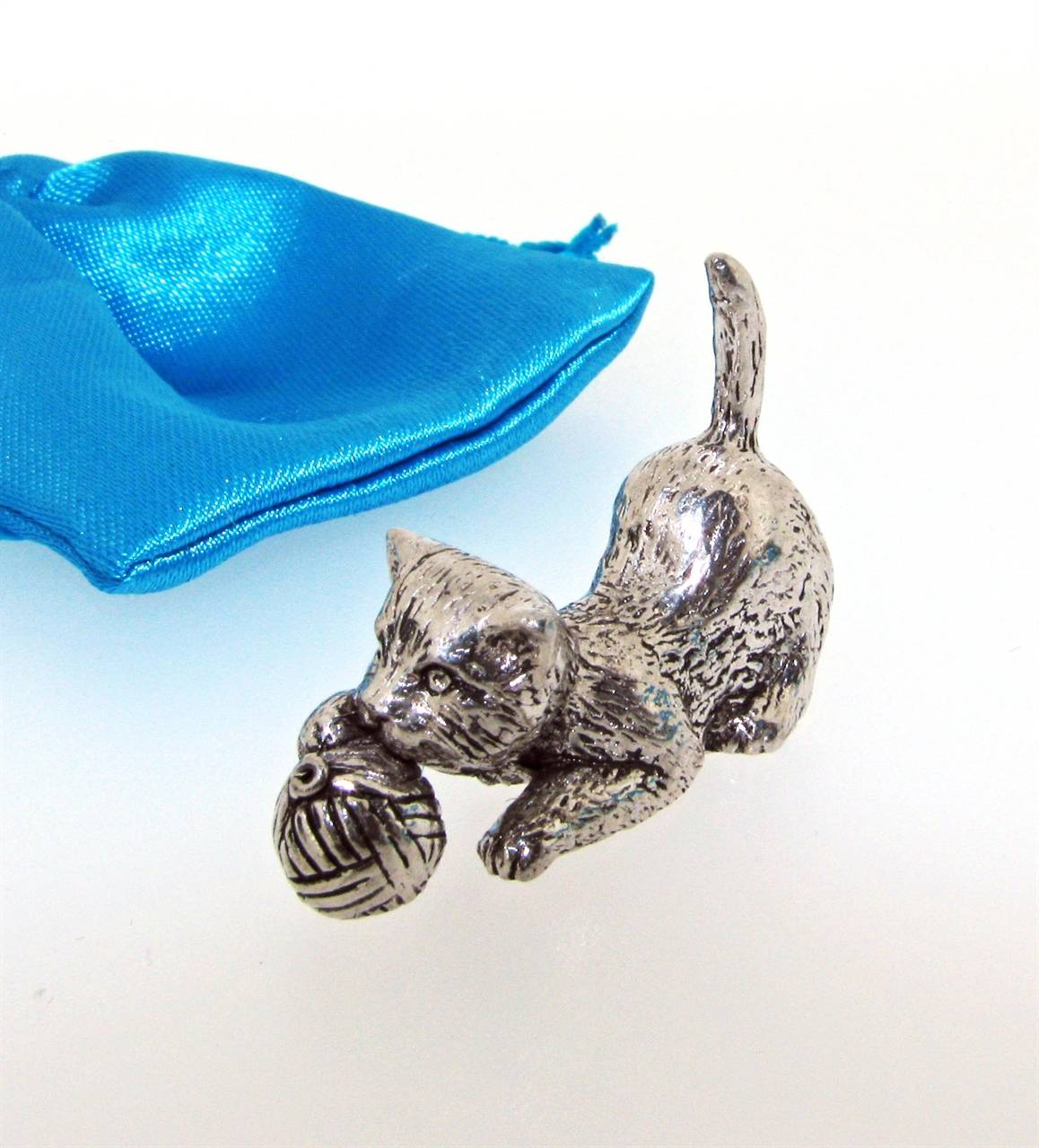 Kitten Miniature - high quality pewter gifts from Pageant Pewter