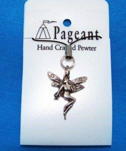 Fairy Phone / Bag Charm - high quality pewter gifts from Pageant Pewter