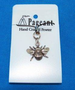 Bee Phone / Bag Phone Charm - high quality pewter gifts from Pageant Pewter