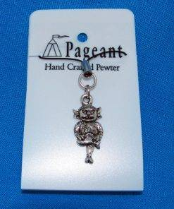 Lincoln Imp Phone / Bag Charm - high quality pewter gifts from Pageant Pewter