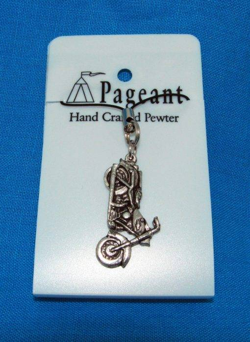 Motorbike Phone / Bag Charm - high quality pewter gifts from Pageant Pewter