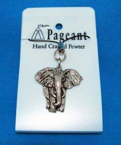 Elephant Phone / Bag Charm - high quality pewter gifts from Pageant Pewter