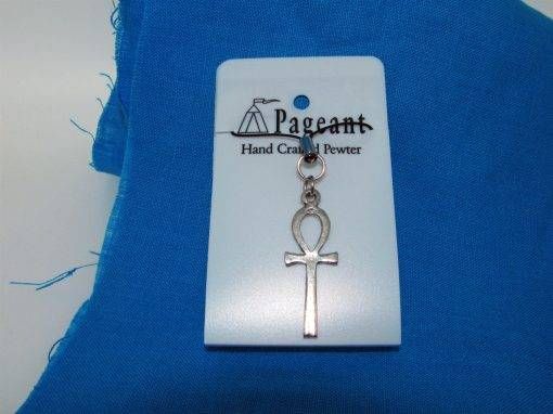 Ankh Phone / Bag Charm - high quality pewter gifts from Pageant Pewter