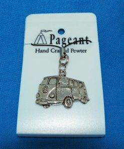 Camper Phone / Bag Charm - high quality pewter gifts from Pageant Pewter