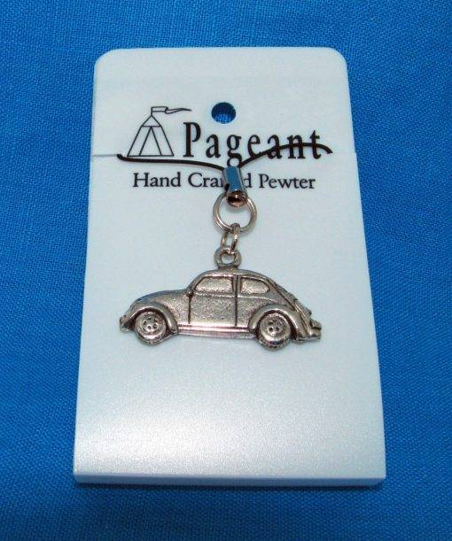 Classic Car VWB Phone / Bag Charm - high quality pewter gifts from Pageant Pewter
