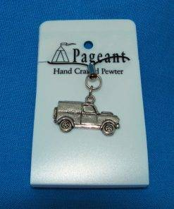 Classic Car LR Phone / Bag Charm - high quality pewter gifts from Pageant Pewter
