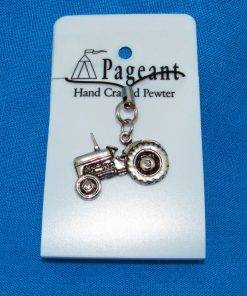 Tractor Phone / Bag Charm - high quality pewter gifts from Pageant Pewter