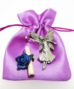 """Fairy With Wand """"Wish"""" - high quality pewter gifts from Pageant Pewter"""