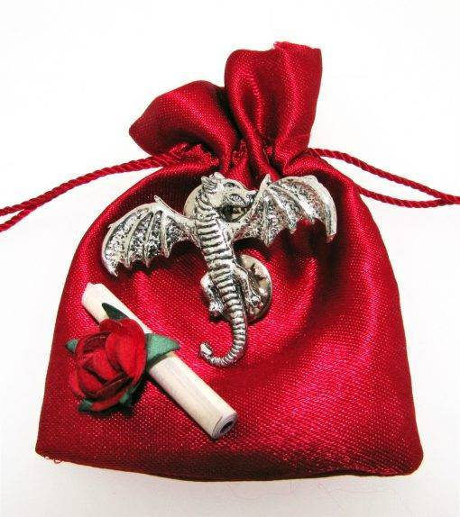 "Dragon ""Wish"" - high quality pewter gifts from Pageant Pewter"