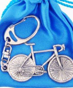 Bicycle Key Ring - high quality pewter gifts from Pageant Pewter