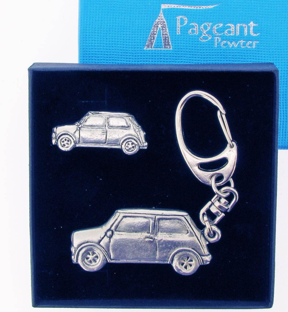 Classic Car Mc Keyring Gift Set