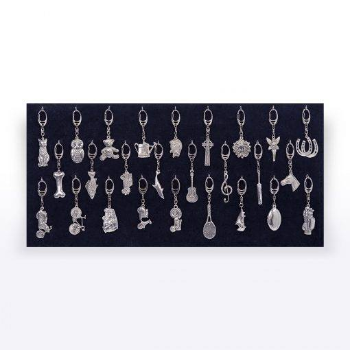 Velvet Keyring Display