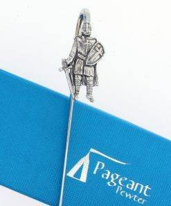 Knight Bookmark - high quality pewter gifts from Pageant Pewter