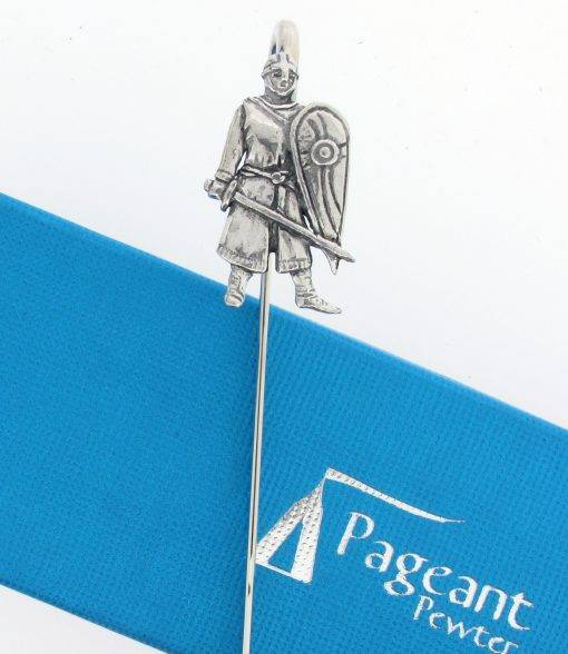Norman Soldier Bookmark - high quality pewter gifts from Pageant Pewter