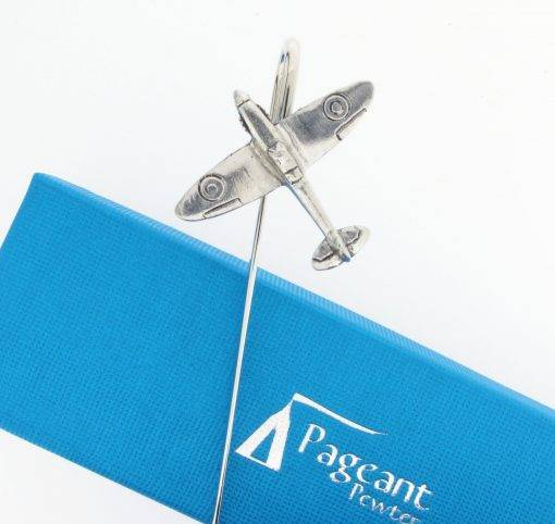 Spitfire Bookmark - high quality pewter gifts from Pageant Pewter
