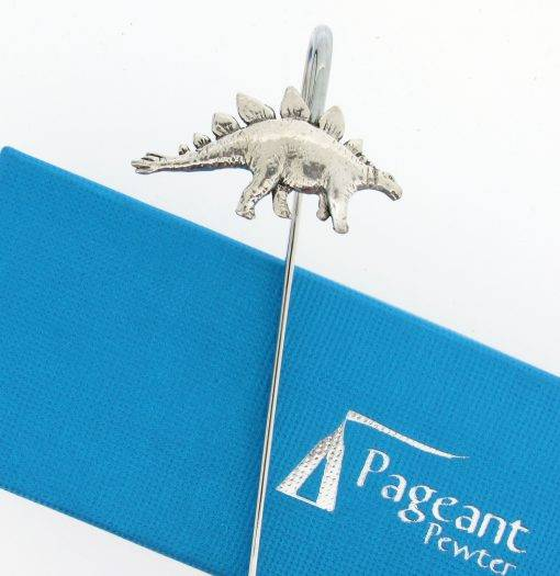 Stegasaurus Bookmark - high quality pewter gifts from Pageant Pewter