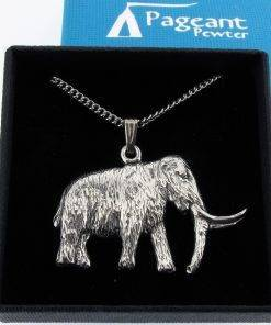 Mammoth Pendant - high quality pewter gifts from Pageant Pewter