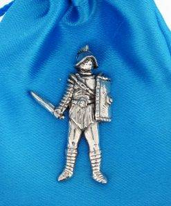 Gladiator Pin Badge - high quality pewter gifts from Pageant Pewter
