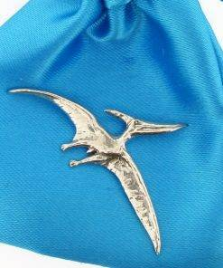 Pterasaur Pin Badge - high quality pewter gifts from Pageant Pewter