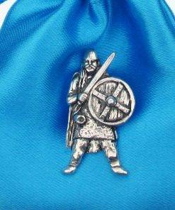 Viking Pin Badge - high quality pewter gifts from Pageant Pewter
