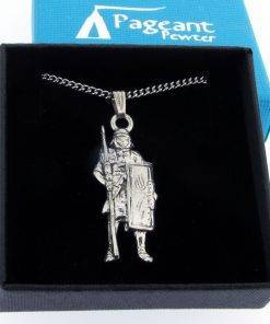 Roman Pendant - high quality pewter gifts from Pageant Pewter
