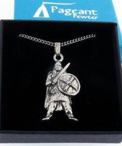 Viking Pendant - high quality pewter gifts from Pageant Pewter